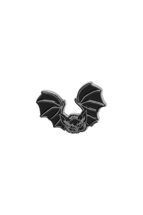 Batty Enamel Pin