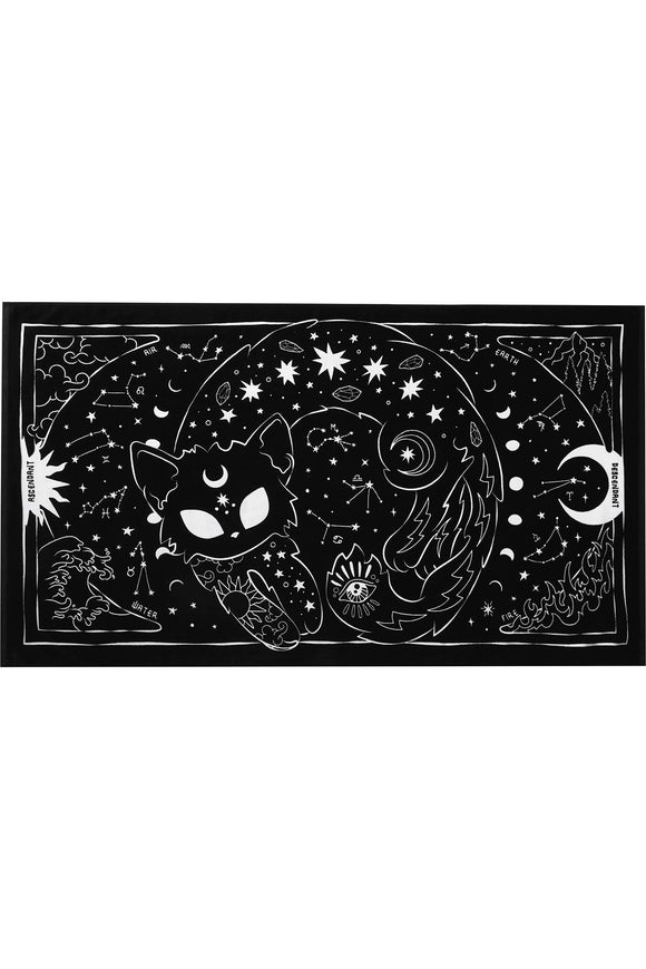 Beach Kitty Goth Towel