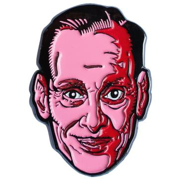John Waters Face Enamel Pin