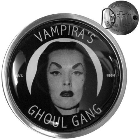Vampira Ghoul Gang Belt Buckle - DeadRockers