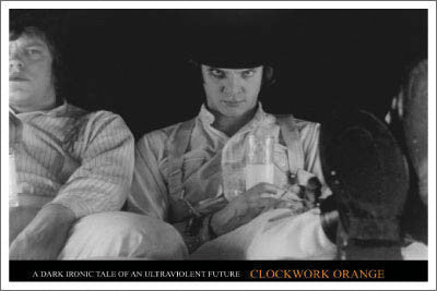 Clockwork Orange Poster - DeadRockers