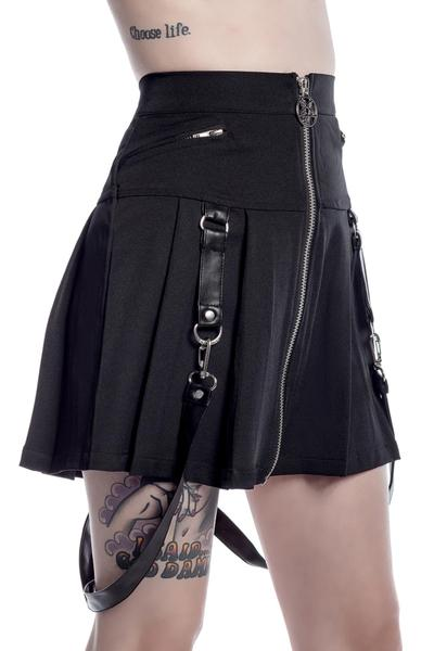 Blaire B*tch Black Mini Skirt