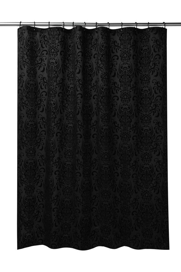 Bloodlust Damask Shower Curtain