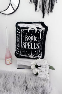 Book of Spells Cushion Pillow