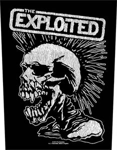 The Exploited Woven Back Patch