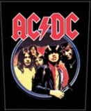 AC/DC Highway Woven Back Patch - DeadRockers