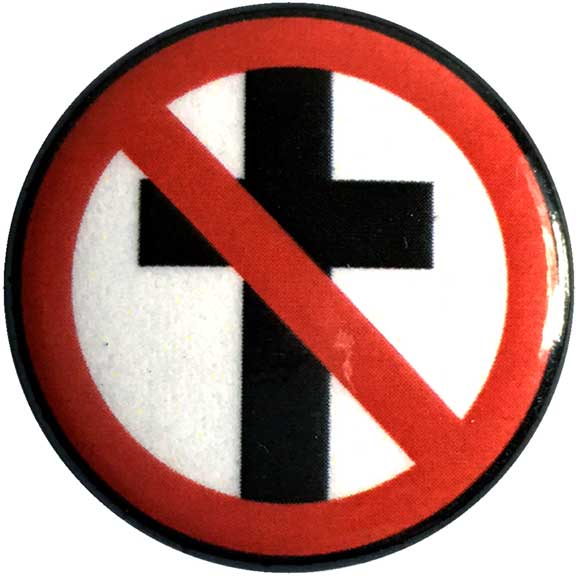 Bad Religion Cross Buster Button