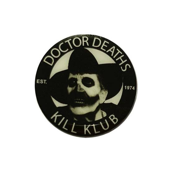 Doctor Death Vincent Price Pin