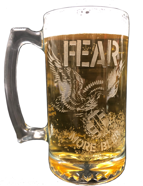 FEAR Beer Glass Mug