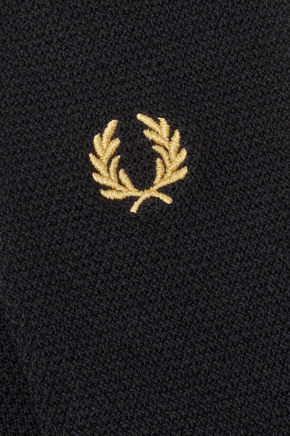 Fred Perry Tipped Socks Black/Champagne