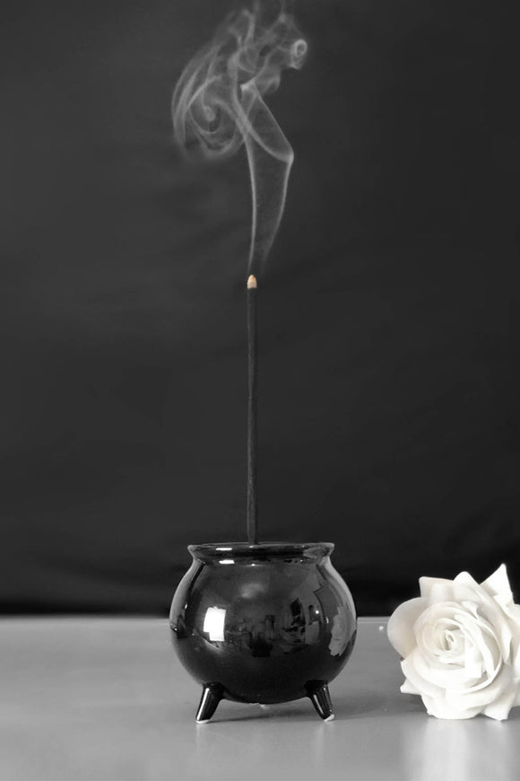 Cauldron Incense Holder