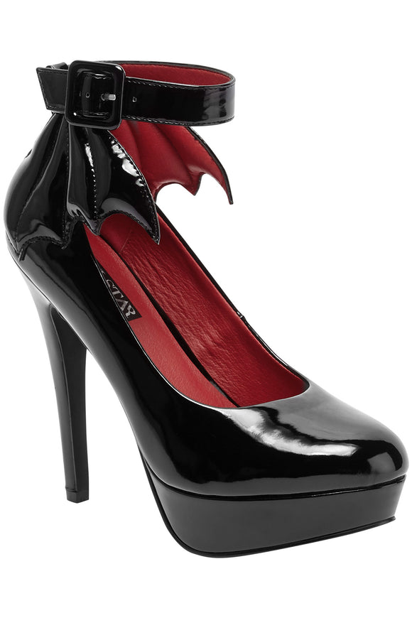 Cemetery Lane Bat Wing Heels