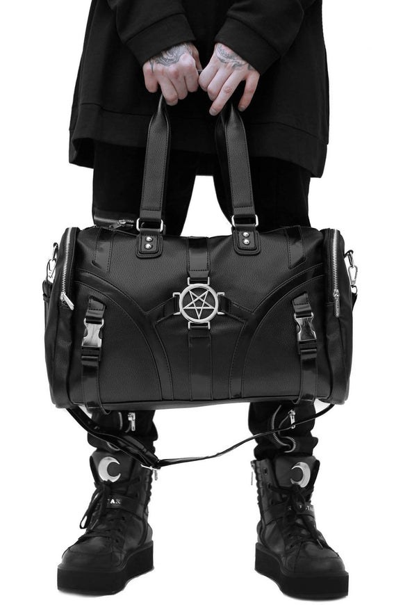 Cody Pentagram Buckle Duffle Bag