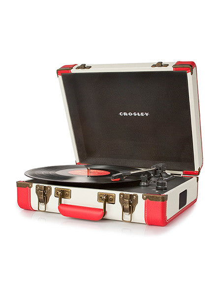 Executive Portable USB Turntable - Red - DeadRockers