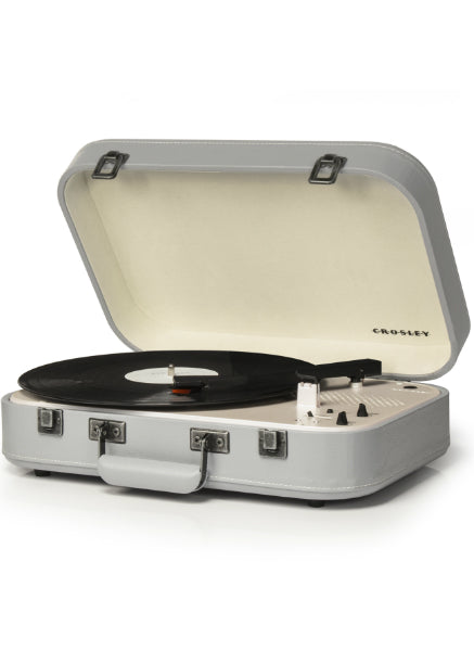 Crosley Coupe Turntable w/ Bluetooth - Gray
