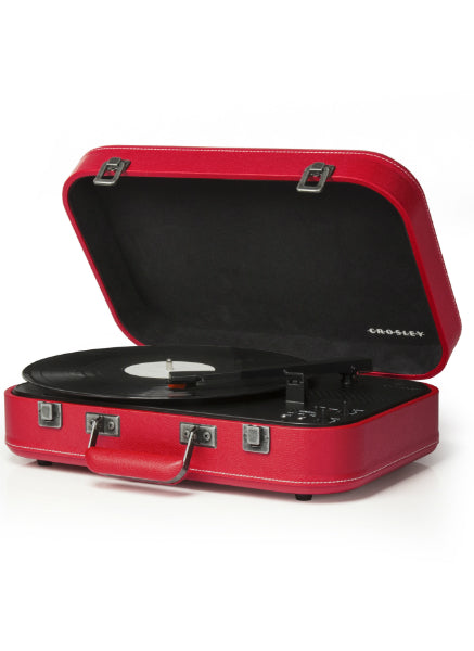 Crosley Coupe Turntable w/ Bluetooth - Red