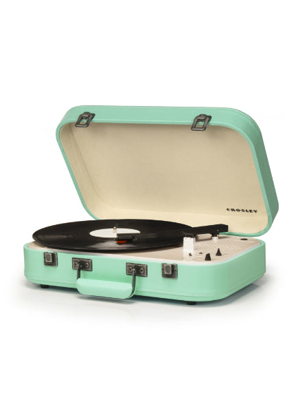 Crosley Coupe Turntable w/ Bluetooth - Teal