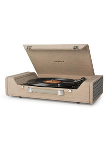 Nomad Portable USB Turntable - Light Brown - DeadRockers