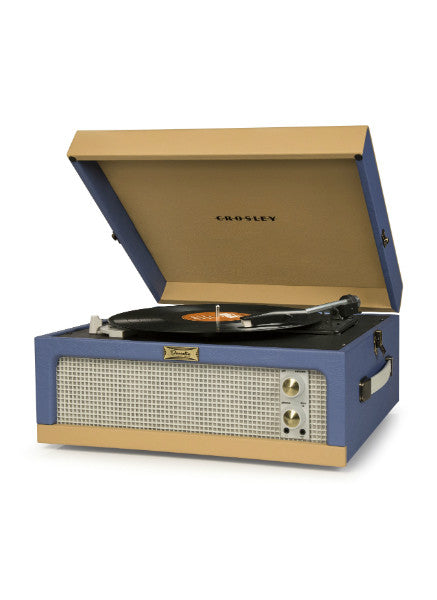 Dansette Junior Turntable - Blue/Tan - DeadRockers