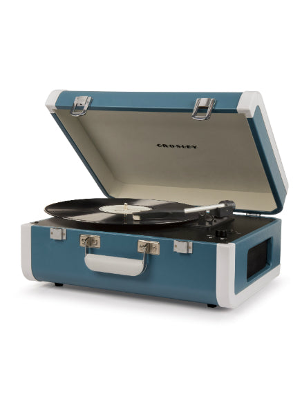 Portfolio Portable Bluetooth Turntable - Turquoise