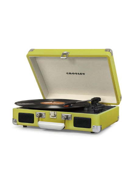 Crosley Cruiser Deluxe Turntable w/ Bluetooth - Green