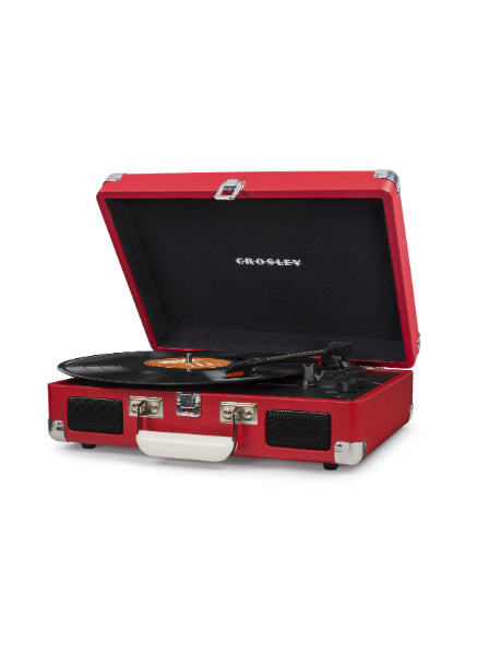 Crosley Cruiser Deluxe Turntable w/ Bluetooth - Red