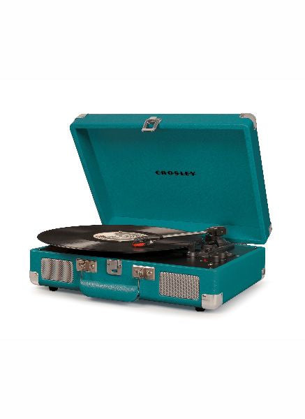 Crosley Cruiser Deluxe Turntable w/ Bluetooth - Teal