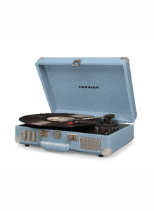 Crosley Cruiser Deluxe Turntable w/ Bluetooth - Tourmaline