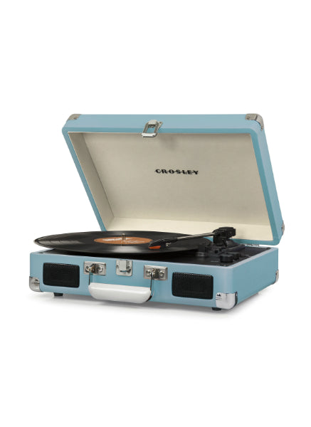 Crosley Cruiser Deluxe Turntable w/ Bluetooth - Turquoise