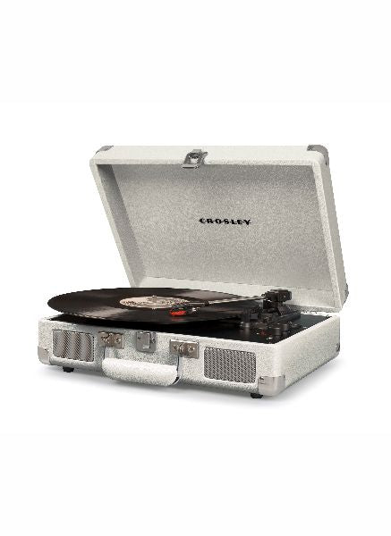 Crosley Cruiser Deluxe Turntable w/ Bluetooth - White Sand