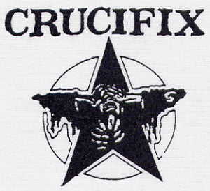 Crucifix 'Star' Patch - DeadRockers