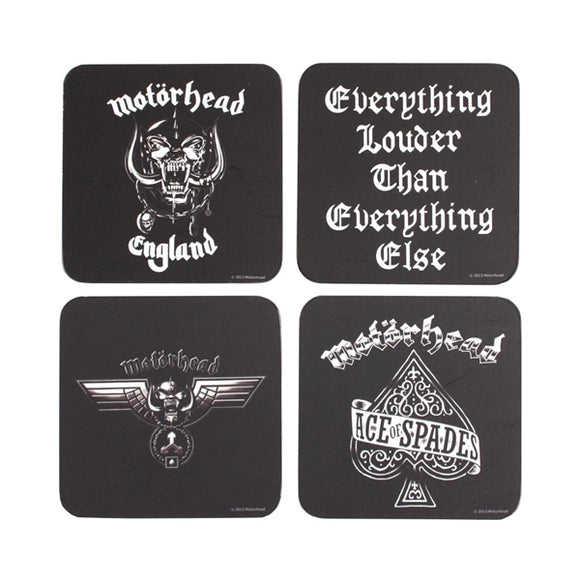 Motorhead Coaster Set