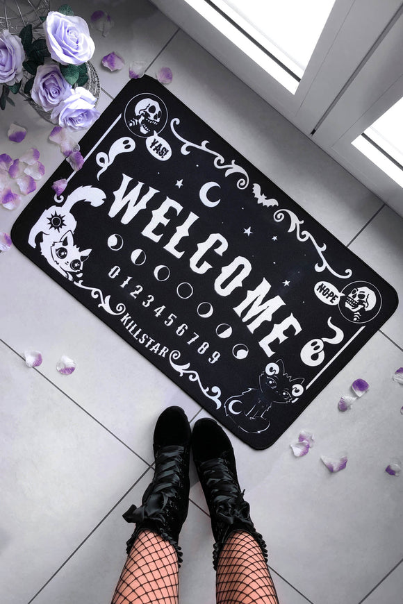 Cute & Spooky Welcome Ouija Doormat Rug