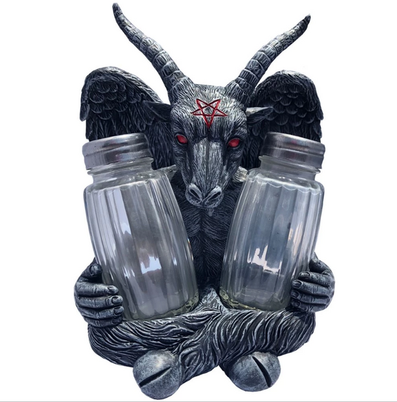 Goat Head Baphomet Shaker Set