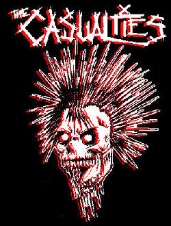 Casualties Back Patch - DeadRockers