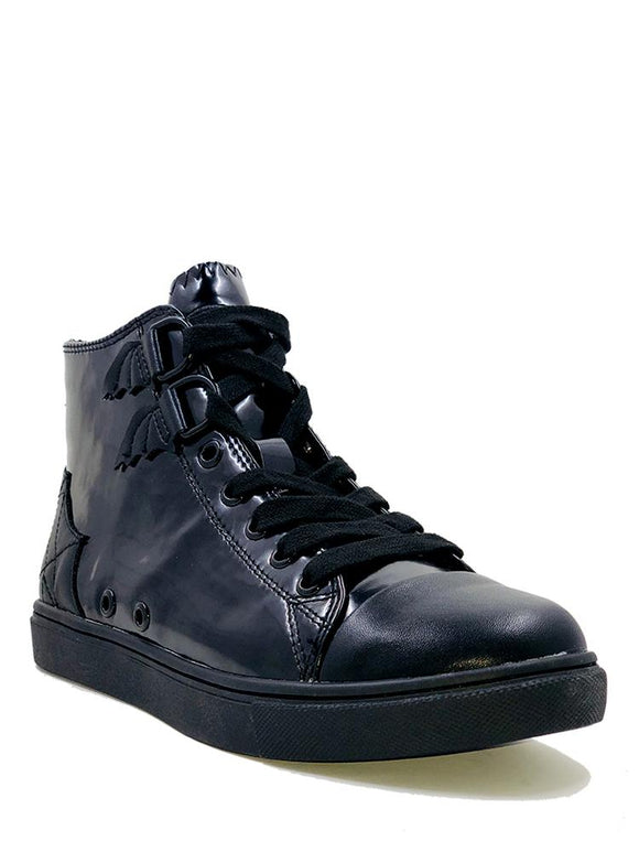 Black Chelsea High Tops ( Size 7 or 9 only!)