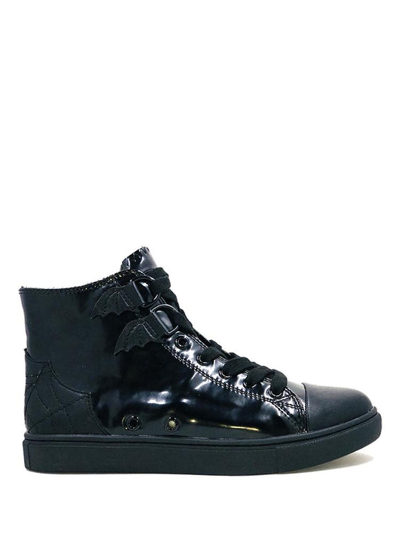 Black Chelsea High Tops