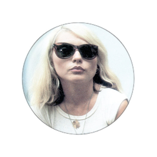 Debbie Harry Face Button