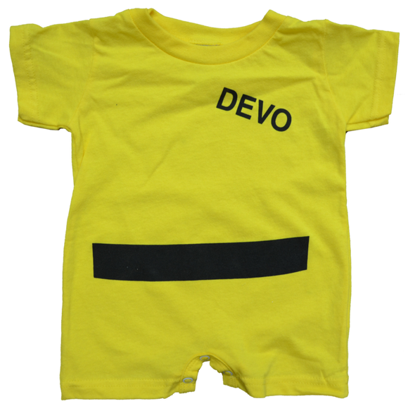 DEVO Yellow Suit Onesie