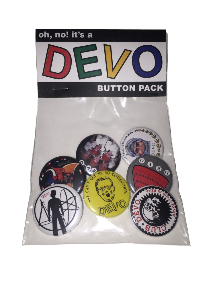 Devo Button Pack - DeadRockers