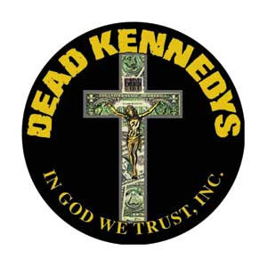 Dead Kennedys 'Cross' Pin - DeadRockers