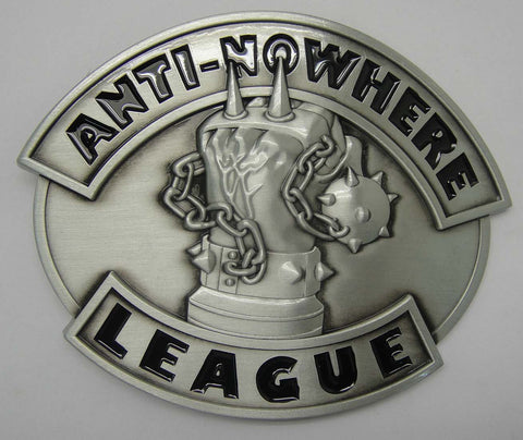 Anti-Nowhere League Belt Buckle