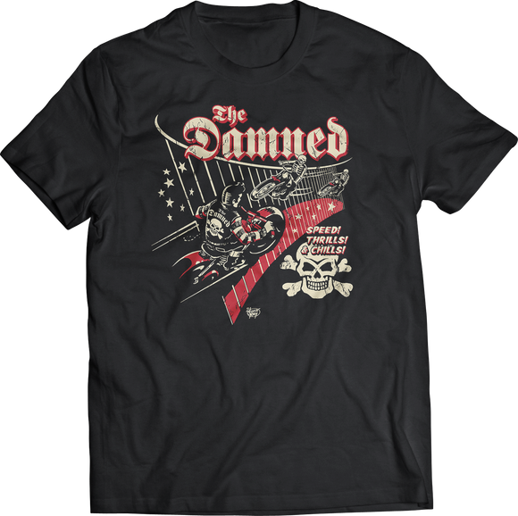 The Damned Speed Thrills And Chills Band Shirt