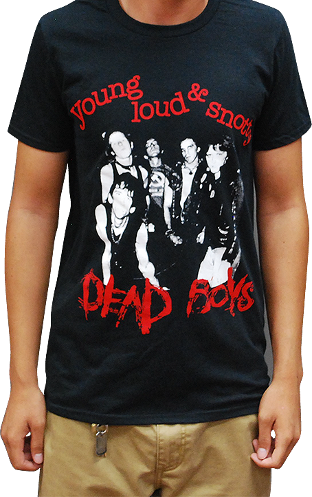Dead Boys Young Loud & Snotty Shirt - DeadRockers