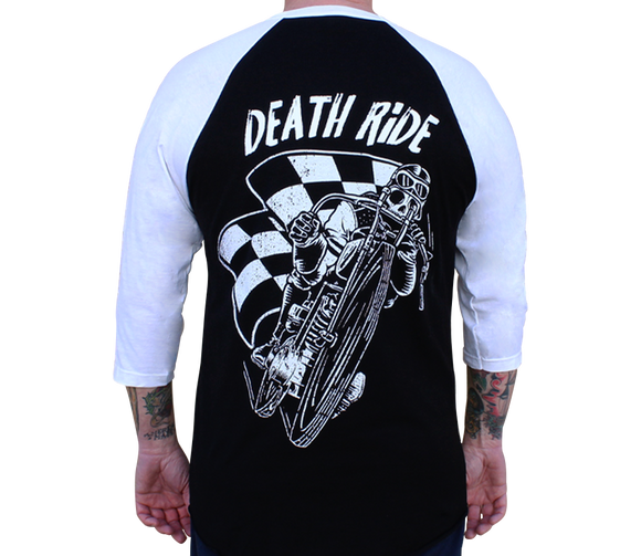 Death Ride Mens Baseball Shirt