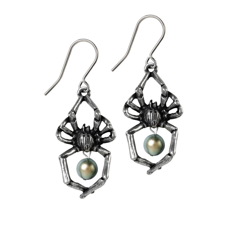 Glistercreep Spider Earrings - DeadRockers
