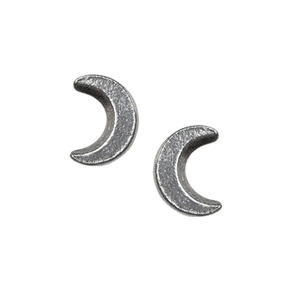 Sickle Moon Stud Earrings