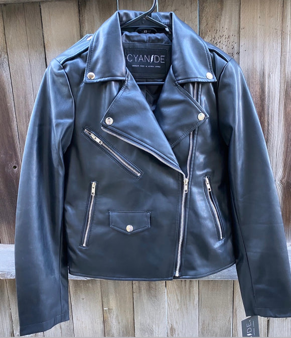 Cyanide Vegan Leather Jacket