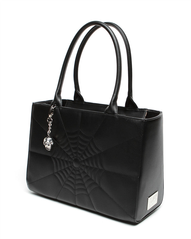 Elvira Lucky Me Tote Black Matte - DeadRockers