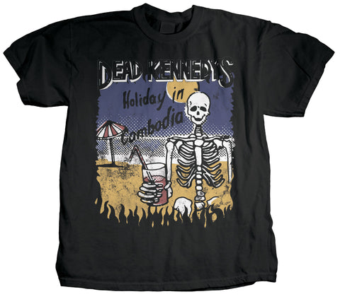Dead Kennedys Holiday Skeleton Shirt